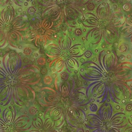 Baja Breeze Batiks 22 Seaweed