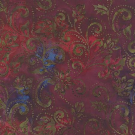 Baja Breeze Batiks 32 Berry