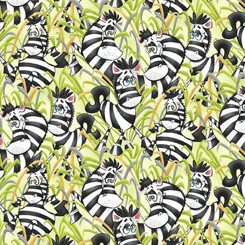 A Jungle Story - Playful Zebras
