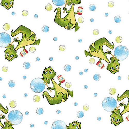 A Jungle Story - Alligator Blowing Bubbles