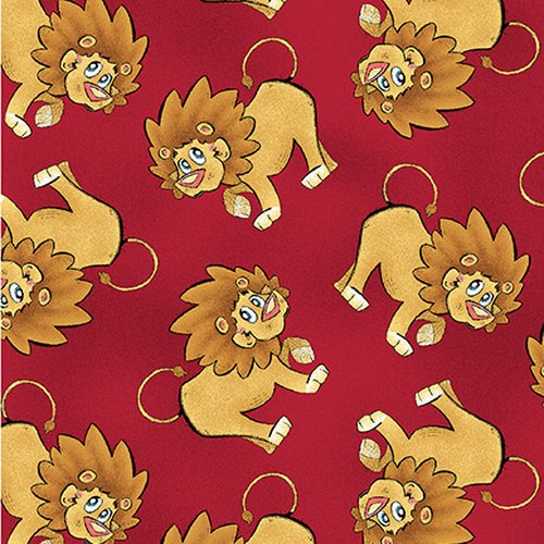 A Jungle Story - Tossed Lion (Remnant: 2 yds)