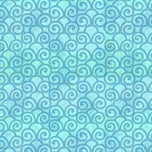Color My World - Monotone Swirl - Blue