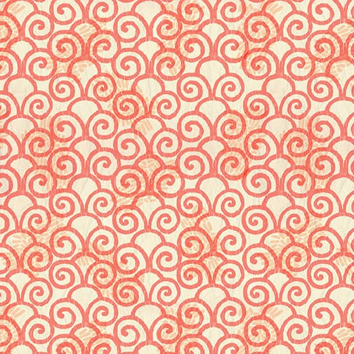 Color My World - Monotone Swirl - Orange