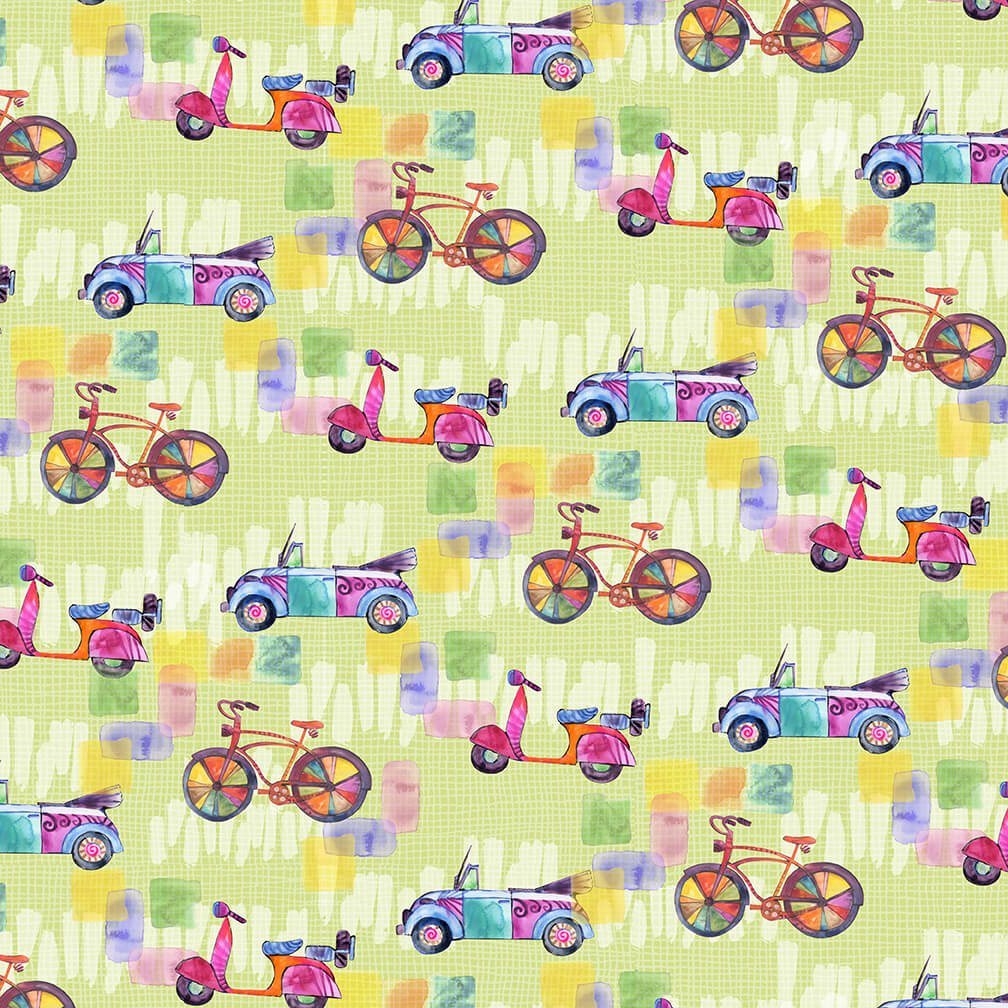 Color My World - Bikes, Cars & Scooters