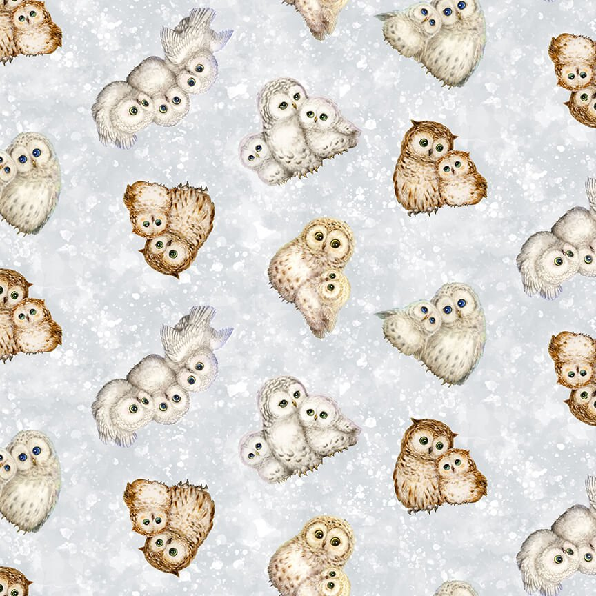 Epic Owls - Small Allover Owls