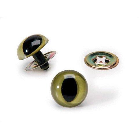 Cat Eyes w/ Washer - Green