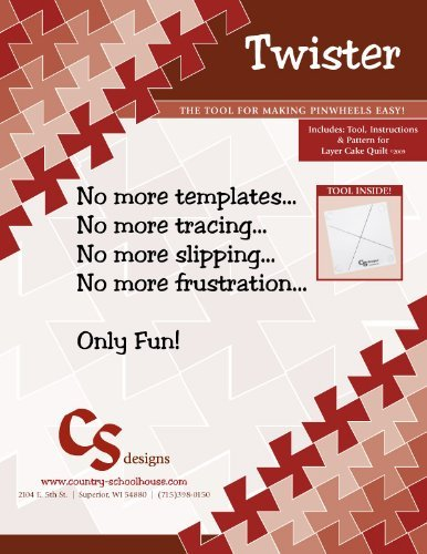 Original Twister Pinwheel Template
