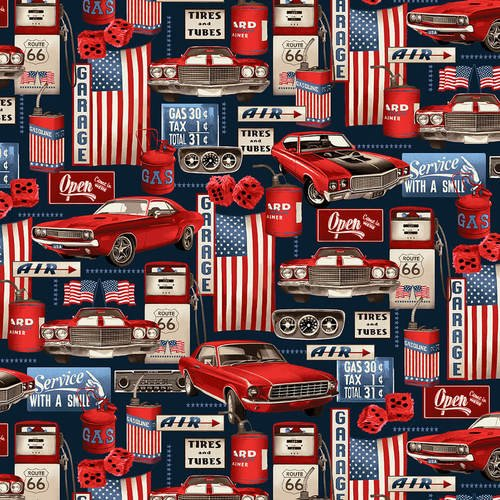 American Muscle - Garage Collage