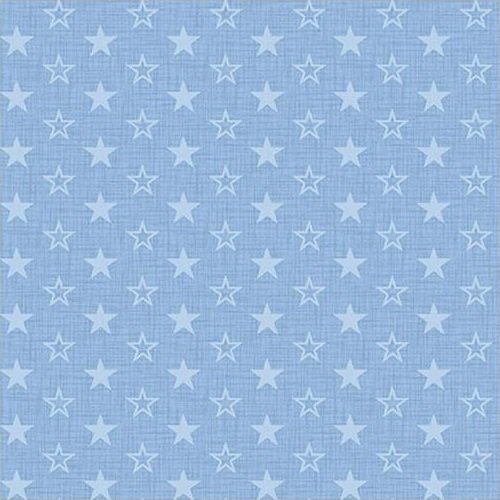 American Muscle - Mini Stars - Light Blue