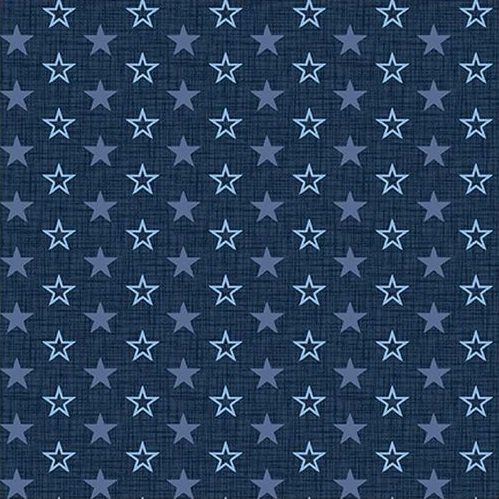 American Muscle - Mini Stars - Navy