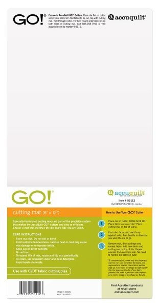 GO! Cutting Mat - 6 x 12