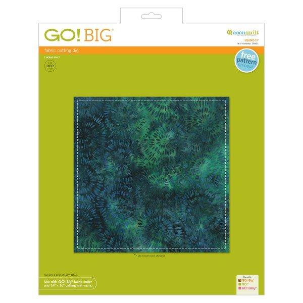 GO! Big Square - 10 (9 1/2 Finished)