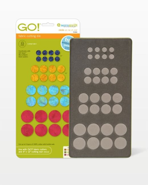 GO! Circle - 1/2, 3/4, 1, 1 1/4