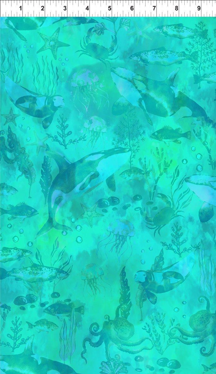 Calypso - Undersea Tonal - Teal