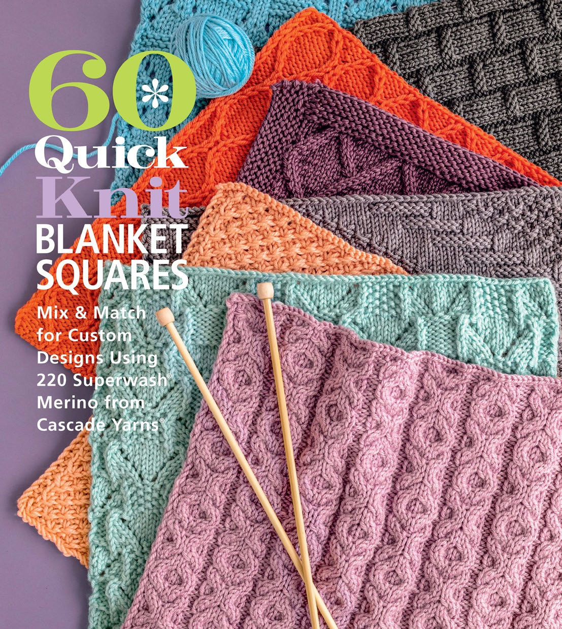 60 Quick Knit Blanket Squares