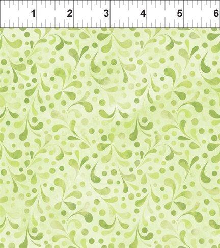Ajisai - Tonal Swirl - Light Green