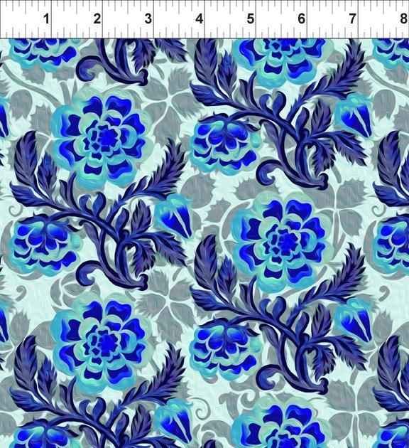 Pastiche - Peony - Blue