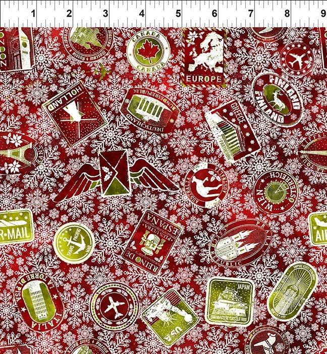 Winter Around the World - Stamps