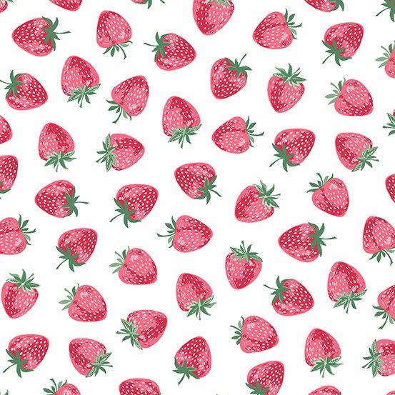 Strawberry Jam - Strawberry - White