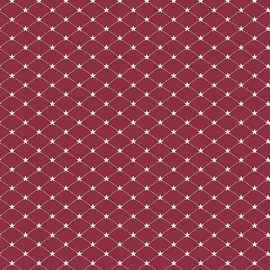 Allegiance - Tufted Star - Cranberry