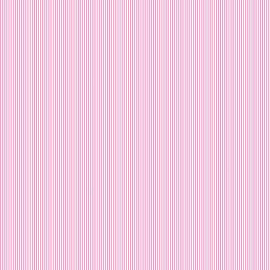 Pin Stripe - Light Pink (Remnant: 1-7/8 yds)