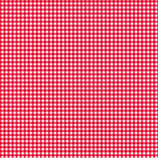 Fruity Friends - Gingham - Red