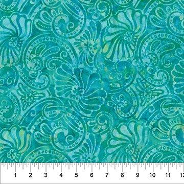 Dappled Leaves - 80625 - Aqua