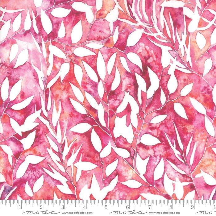 Brightly Blooming - Botanical - Fuchsia