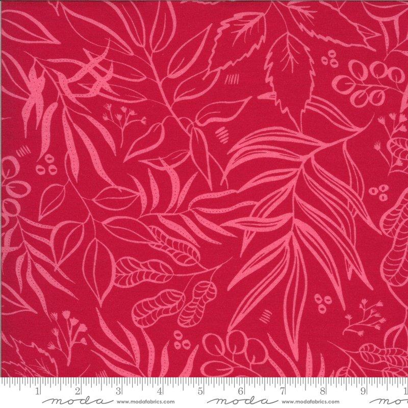 Moody Bloom Knits - Leaf It To Me - Fuchsia