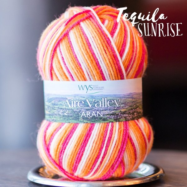 Aire Valley Aran - 856 Tequila Sunrise
