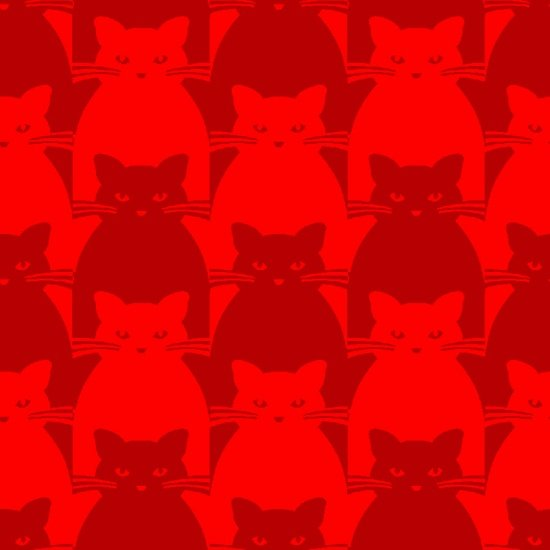 Kitty Kitty - Red
