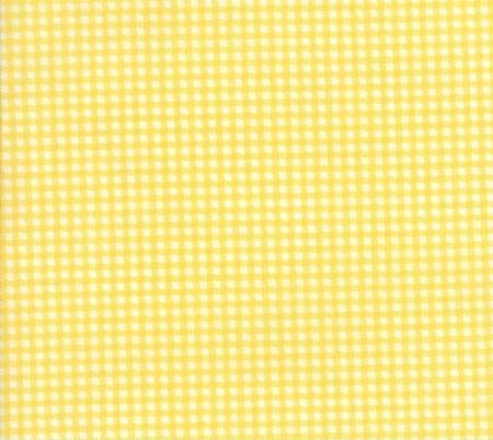 Essentially Yours - Gingham - Yellow
