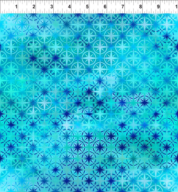 Calypso - Compass - Turquoise