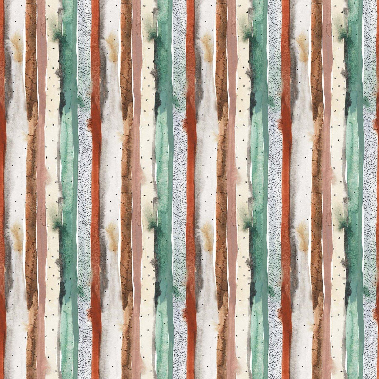 Desert Wilderness - Stripe (Remnant: 1-3/4 yds)
