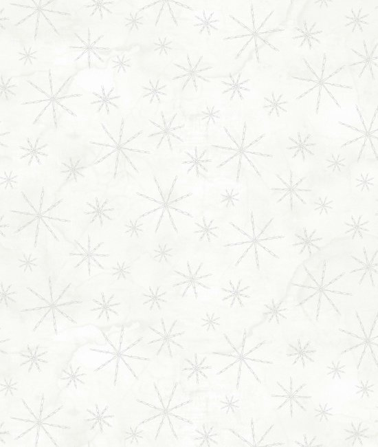 Western Greetings - Barbed Wire Snowflakes - White