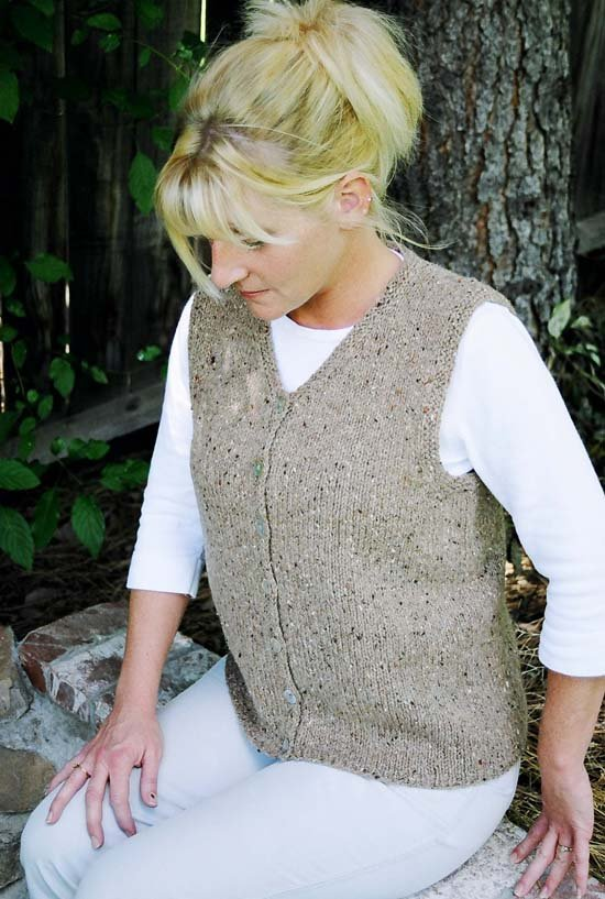 Basic Cardigan Vest for Women