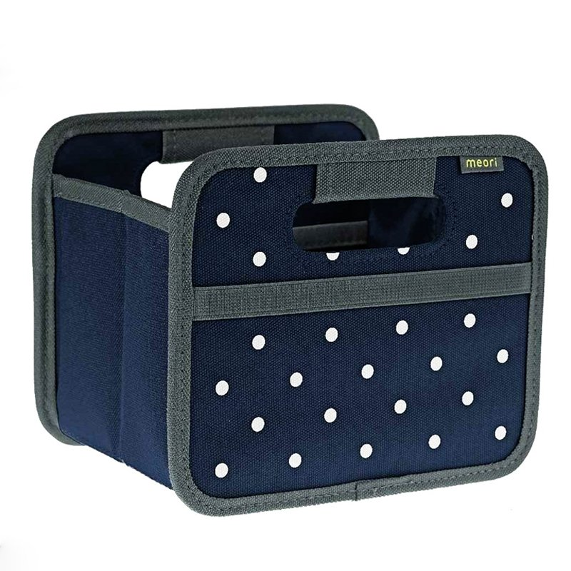 Foldable Box Mini - Dot - Marine Blue