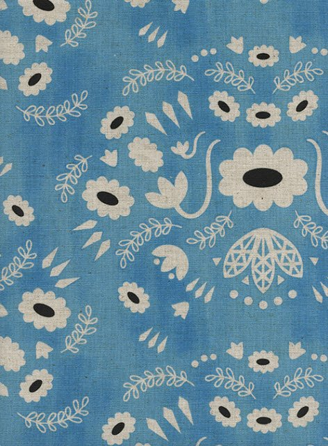 The little farm canvas fabric #11