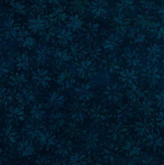 Angel Eye - Falling Daisies - Amalfi Blue