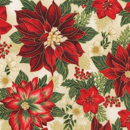 Holiday Flourish 11 - Poinsettia - Holiday