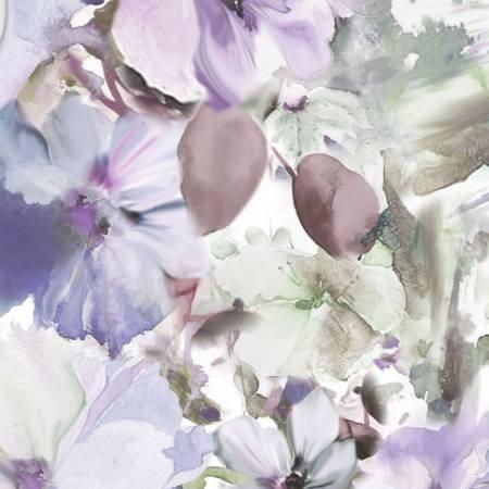Arabesque Floral - Blue/Violet