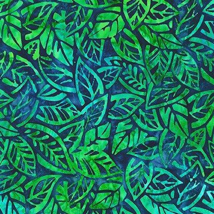 Summer Zest - Leaves - Azure