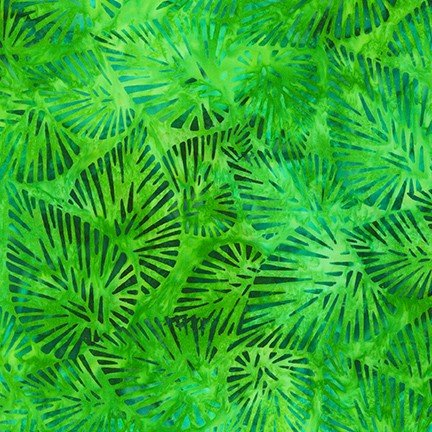 Totally Tropical - Leaves - Island Green