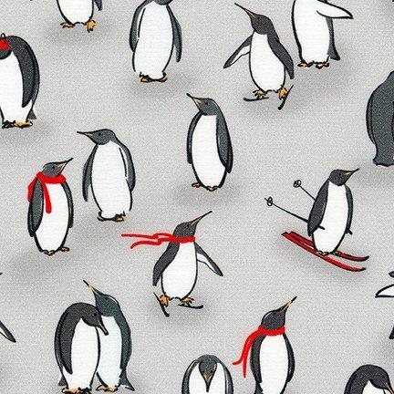 Animal Kingdom - Penguins - Grey