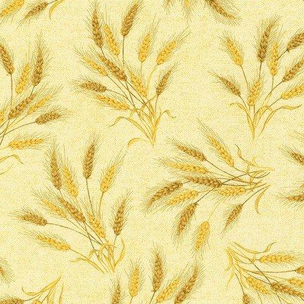 Autumn Beauties Metallic - Wheat - Autumn