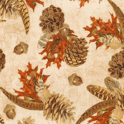 Shades of the Season 11 - Pinecones, Leaves, Feathers - Harvest