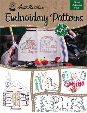 Aunt Martha's Embroidery Patterns: Great Outdoors