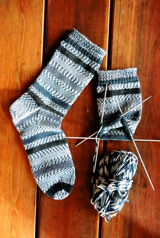 Beginner Mid-Weight Socks
