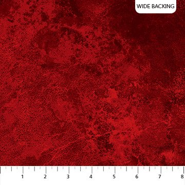 Stonehenge Flannel Backing - Red (108 wide)