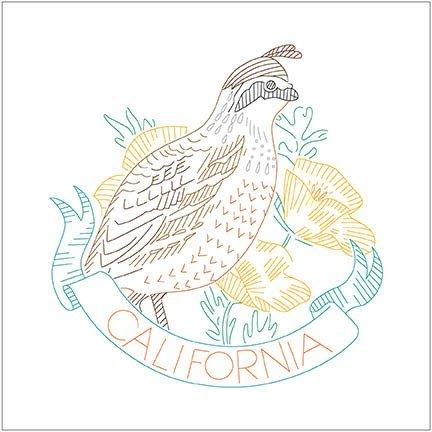 Birds of Liberty Digital Panel - California